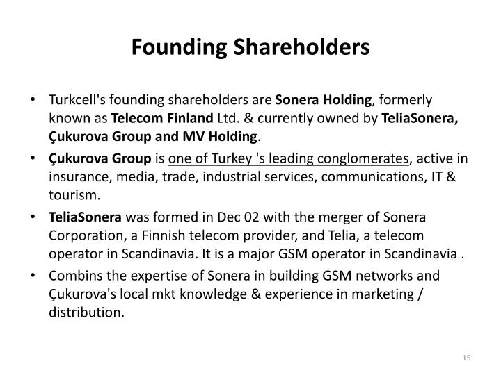 Founding Shareholders