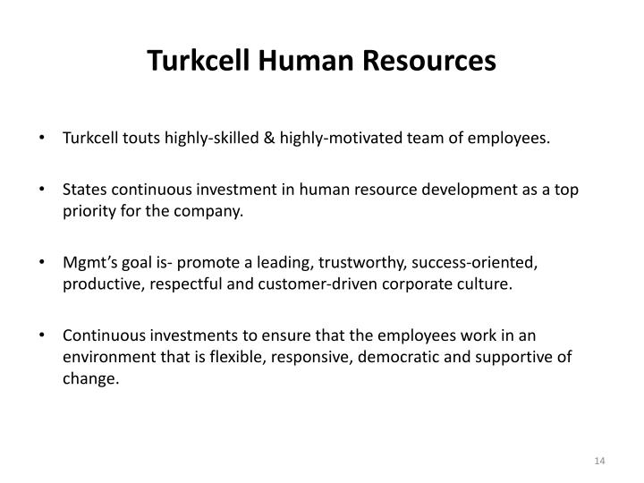 Turkcell Human Resources