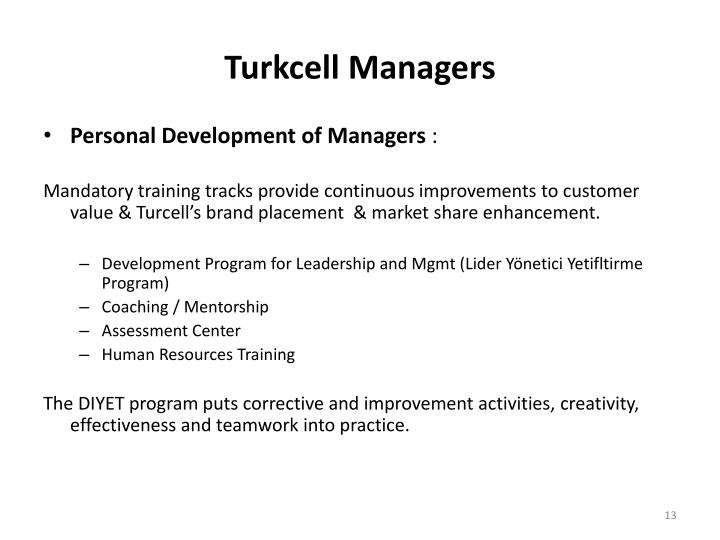 Turkcell Managers