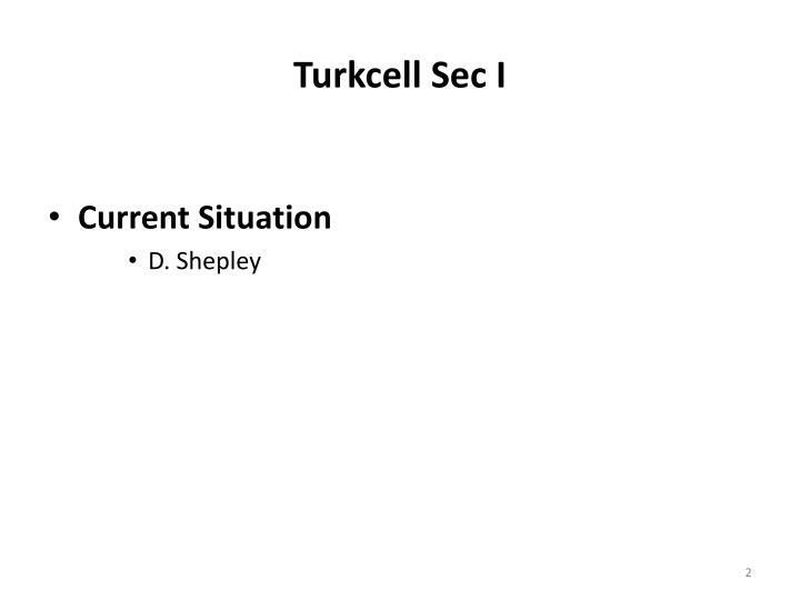 Turkcell Sec I