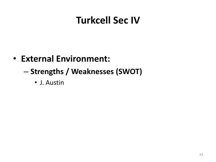 Turkcell Sec IV