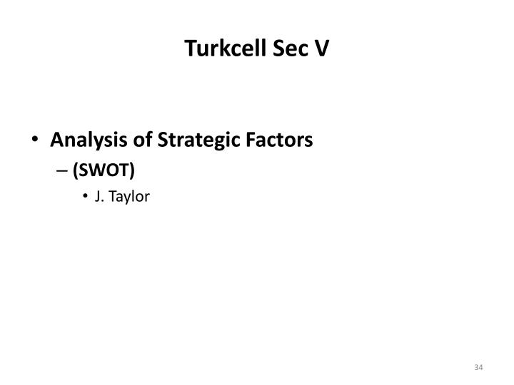 Turkcell Sec V