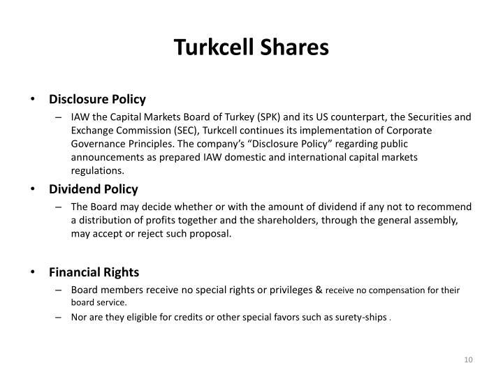Turkcell Shares