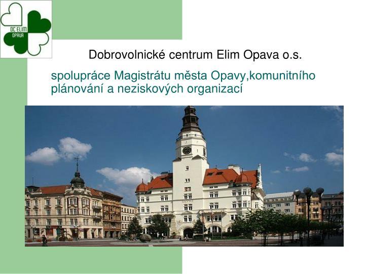 spolupráce Magistrátu města Opavy,komunitního plánování a neziskových organizací