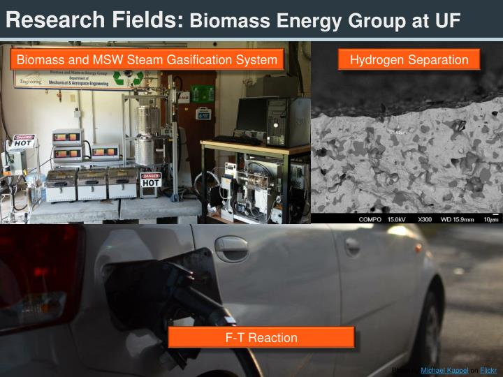 Research fields biomass energy group at uf