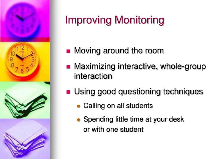 Improving Monitoring