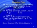 surprise quiz12