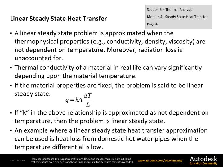 Section 6 – Thermal Analysis