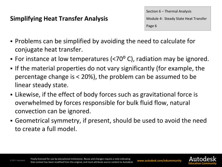 Simplifying Heat Transfer Analysis