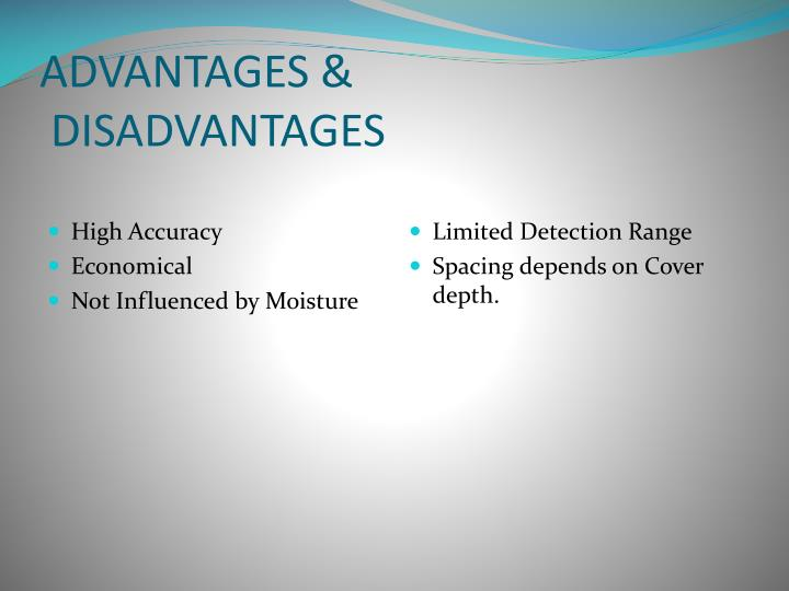 ADVANTAGES &