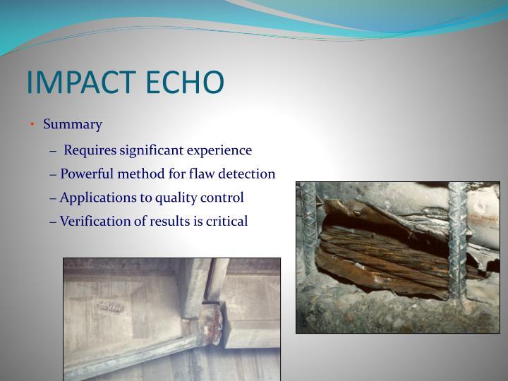 IMPACT ECHO