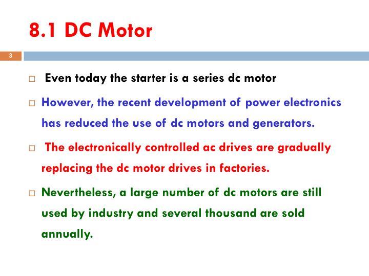 8.1 DC Motor