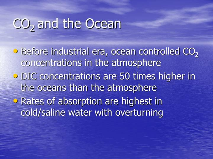 Co 2 and the ocean1