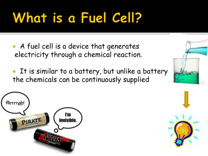 What is a fuel cell