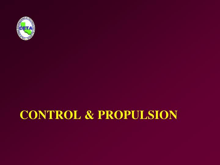 Control & Propulsion