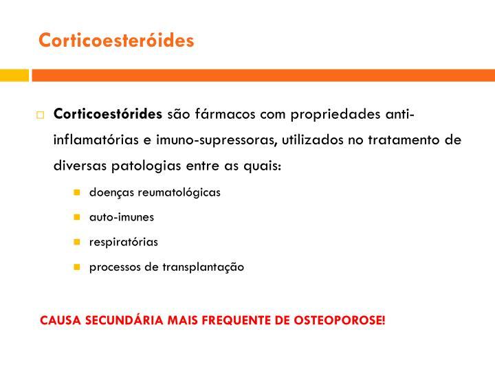 Corticoesteróides