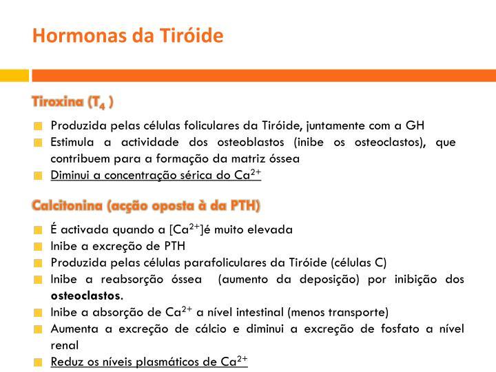 Hormonas da Tiróide