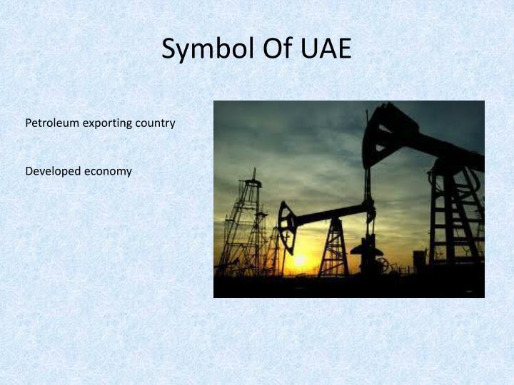 Symbol Of UAE