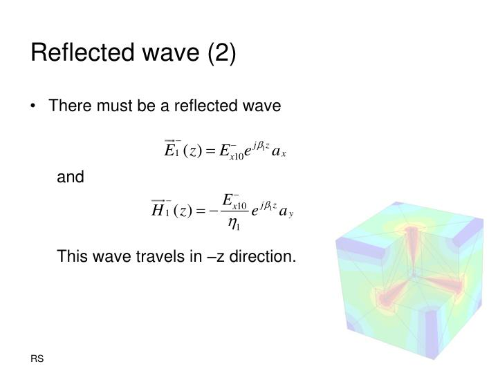 Reflected wave (2)