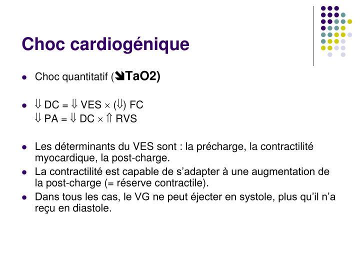 Choc cardiogénique
