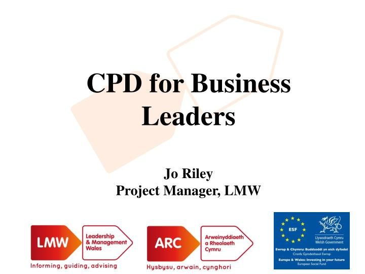 CPD for Business Leaders