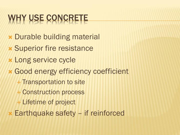 Durable building material