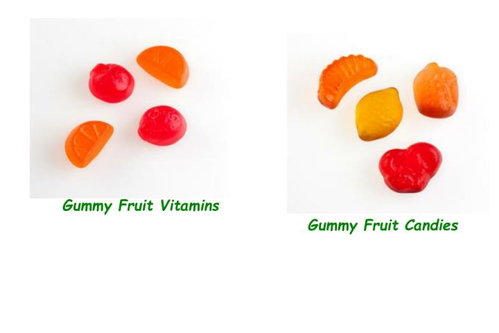 Gummy Fruit Vitamins