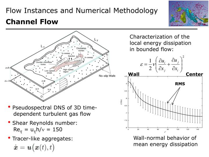 Flow Instances and Numerical Methodology