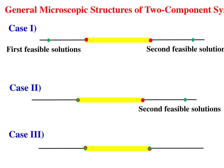 General Microscopic Structures of Two-Component Systems