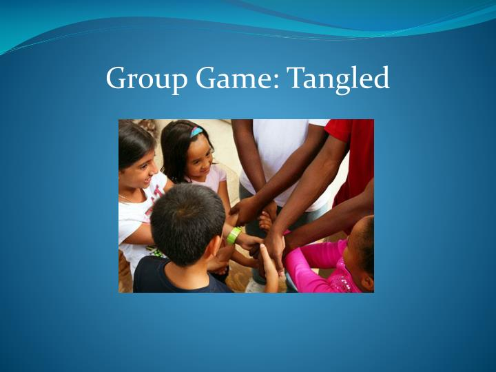 Group Game: Tangled