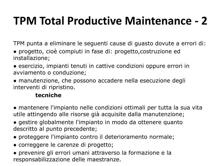 TPM Total