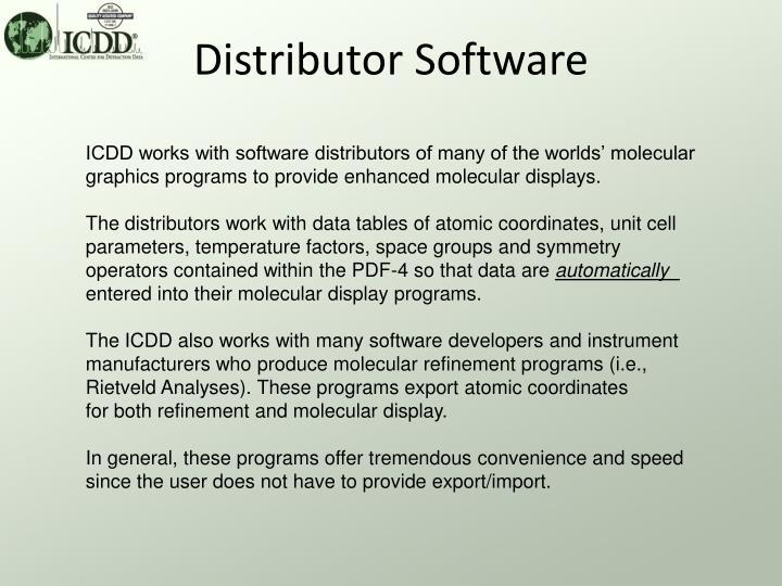 Distributor Software