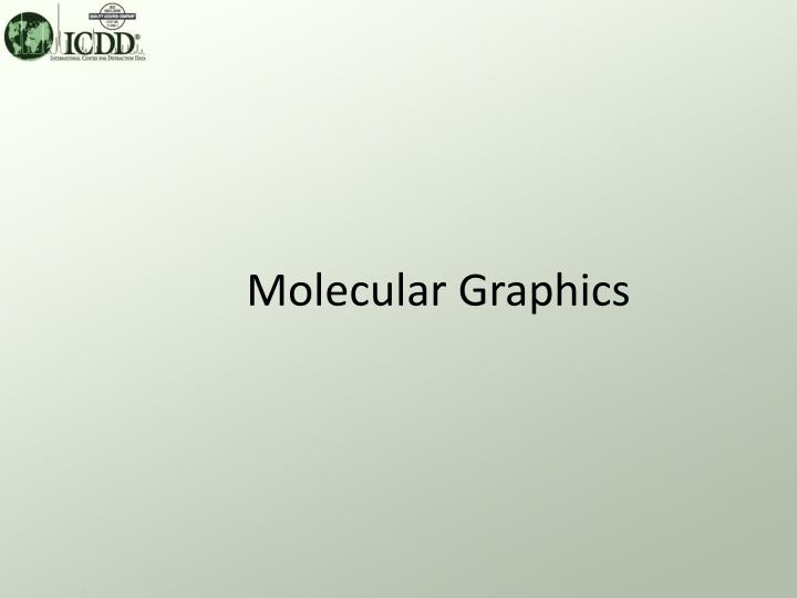 Molecular graphics