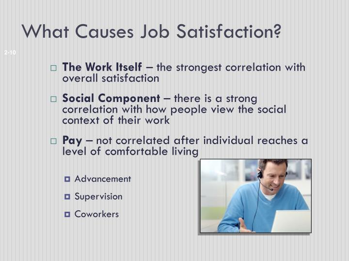 What Causes Job Satisfaction?