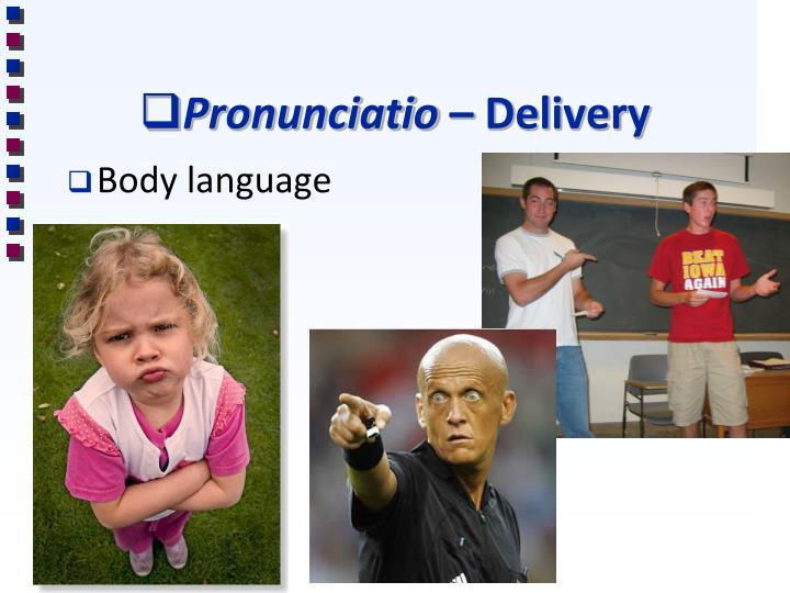 Pronunciatio