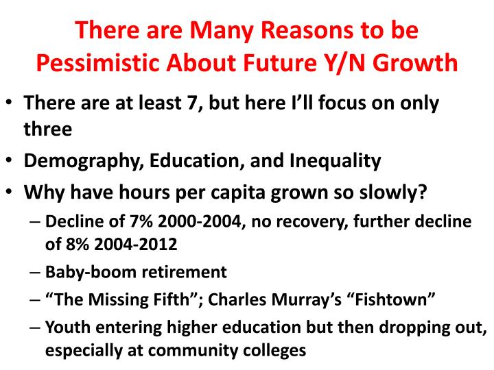 There are Many Reasons to be Pessimistic About Future Y/N Growth
