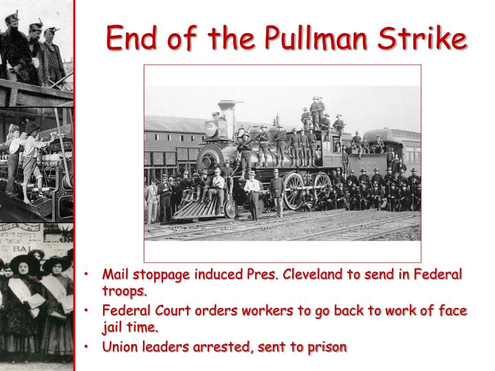 End of the Pullman Strike
