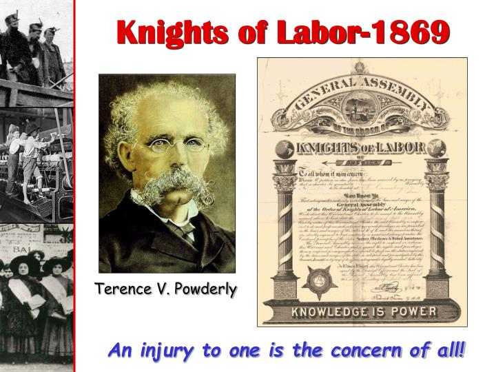 Knights of Labor-1869