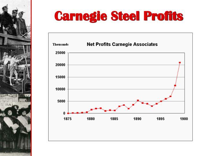 Carnegie Steel Profits