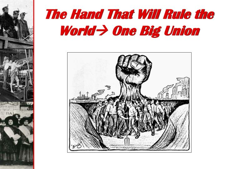 The Hand That Will Rule the World