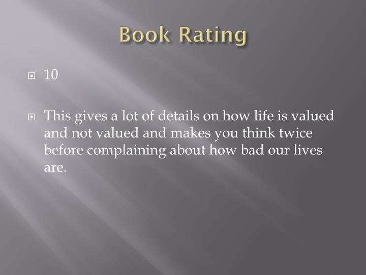 Book Rating