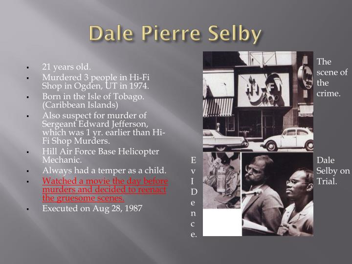 Dale Pierre Selby