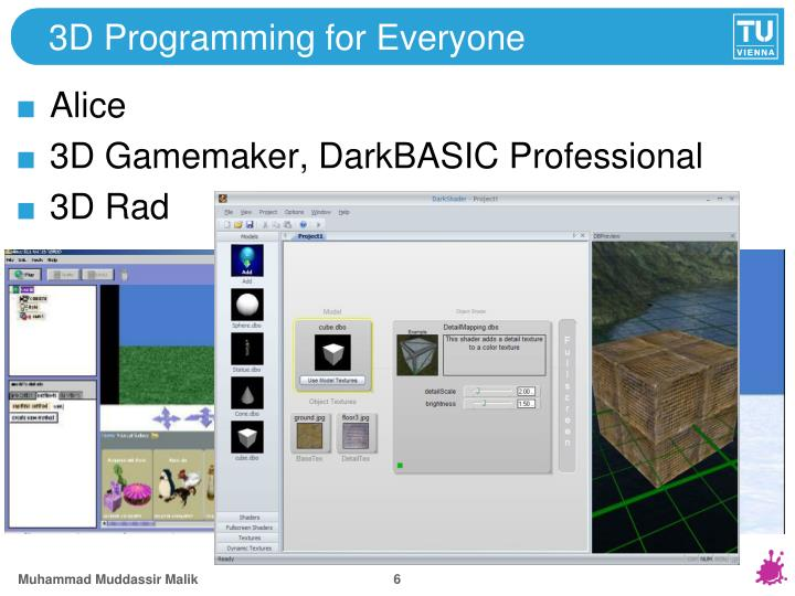 3D Programming for Everyone