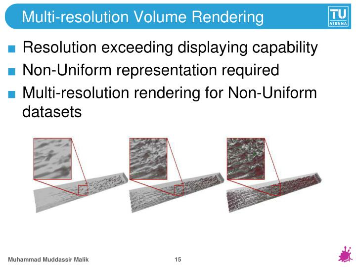 Multi-resolution Volume Rendering