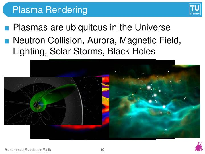 Plasma Rendering