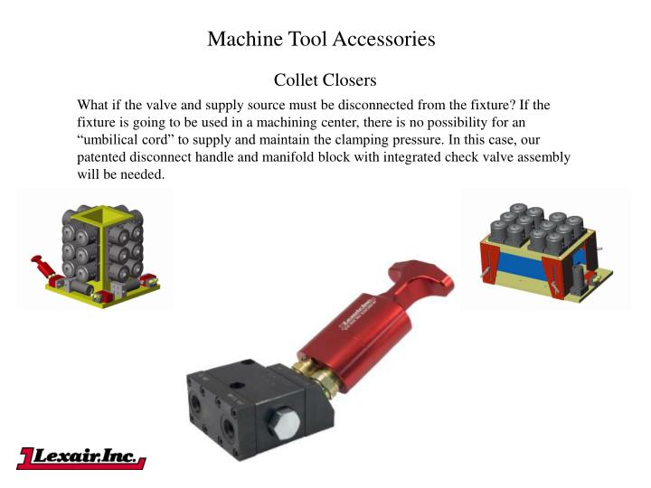 Machine Tool Accessories