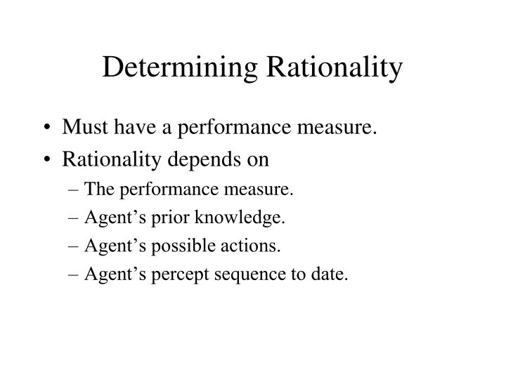 Determining Rationality