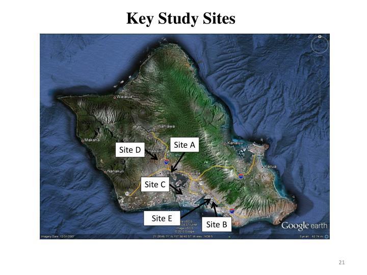 Key Study Sites