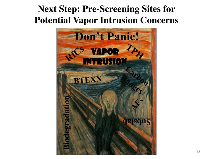 Next Step: Pre-Screening Sites for