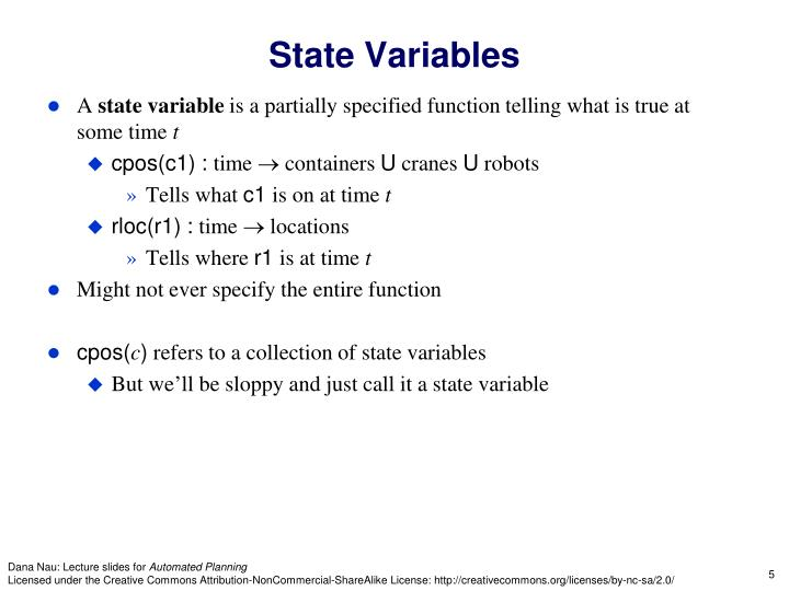 State Variables